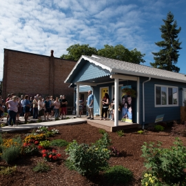 Mt. Angel home dedication