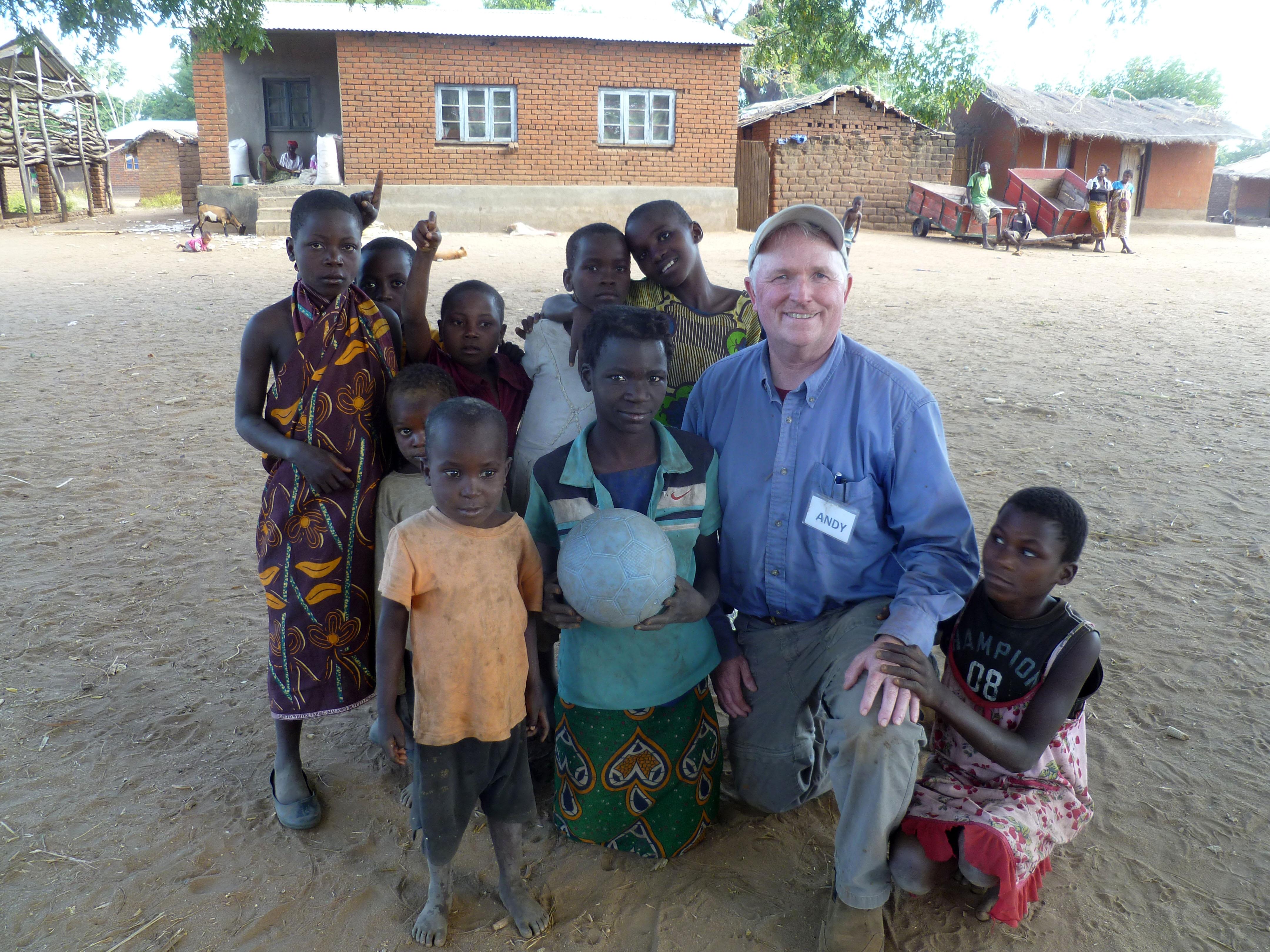 Habitat build in Malawi